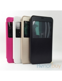 Window VIEW Flip Leather Case Battery Cover for Meizu M1 Note