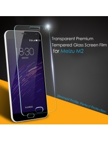 Transparent Premium Tempered Glass Screen Film for Meizu M2