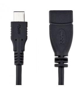 Type-C USB 3.1 OTG Cable Black