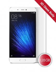Xiaomi Mi 5 Pro 4GB RAM 128GB ROM 3D Glass Body Smartphone White