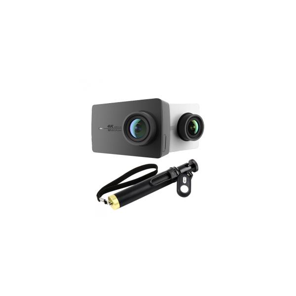 xiaoyi yi 4k action camera 2 bluetooth selfie stick kit. Black Bedroom Furniture Sets. Home Design Ideas