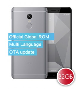 Xiaomi Redmi Note 4X Official Global ROM 3GB 32GB Smartphone Gray