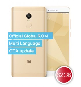 Xiaomi Redmi Note 4X Official Global ROM 32GB Smartphone Gold