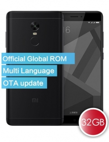 Xiaomi Redmi Note 4X Official Global ROM 32GB Smartphone Black