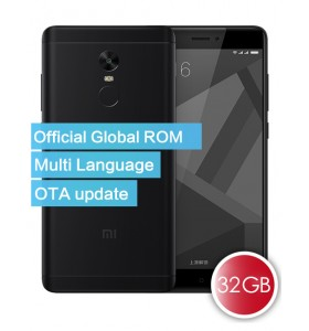 Xiaomi Redmi Note 4X Official Global ROM 32GB Smartphone Black
