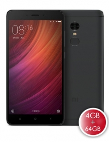 Xiaomi Redmi Note 4 4GB RAM 64GB ROM Smartphone Black