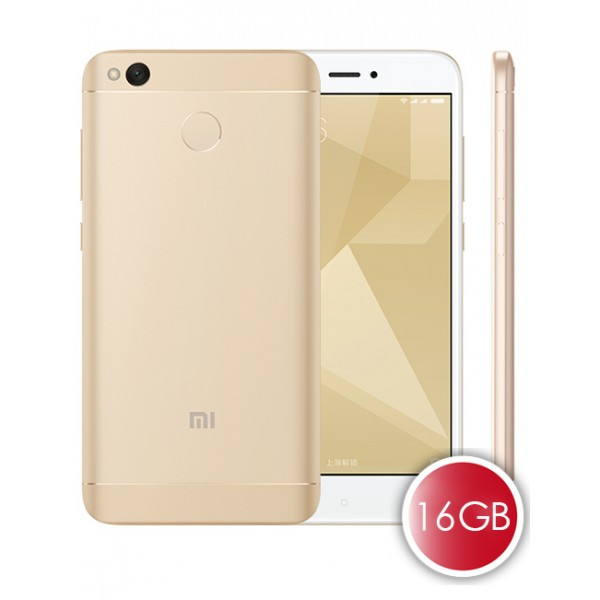 Buy Xiaomi Redmi 4X Gold 16GB ROM 2GB RAM