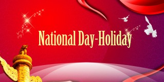 National Day-Holiday Notice
