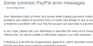 Some Methods to Resolve PayPal Payment Error