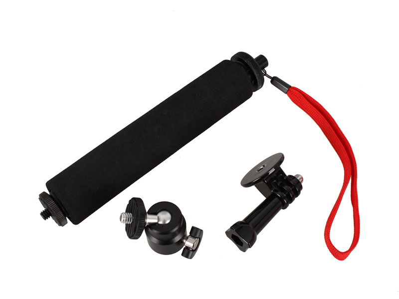 20 inch 3-Way Telescopic Handheld Monopod Self-portrait Pole Stick Extender for Xiaomi Yi Sports Action Camera