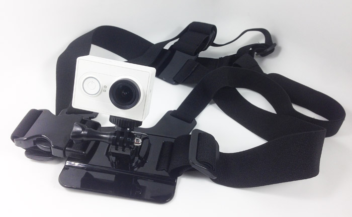 Chest Mount Harness for Xiaomi Yi Sports Camera