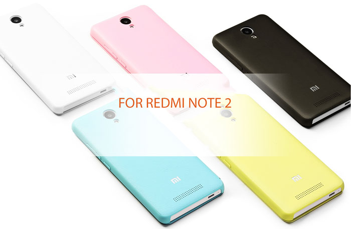 High Quality Flip Leather Case For Xiaomi Redmi Note 2