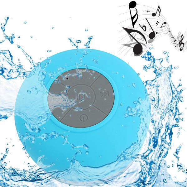Mini Waterproof Wireless Bluetooth Speaker With Sucker