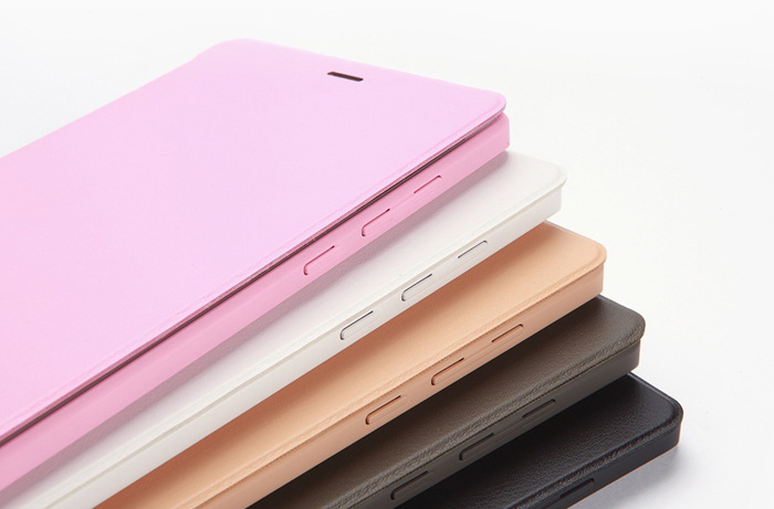 Smart Wake Up_Sleep Flip PU Leather Case Slim Cover for  Xiaomi Mi Note