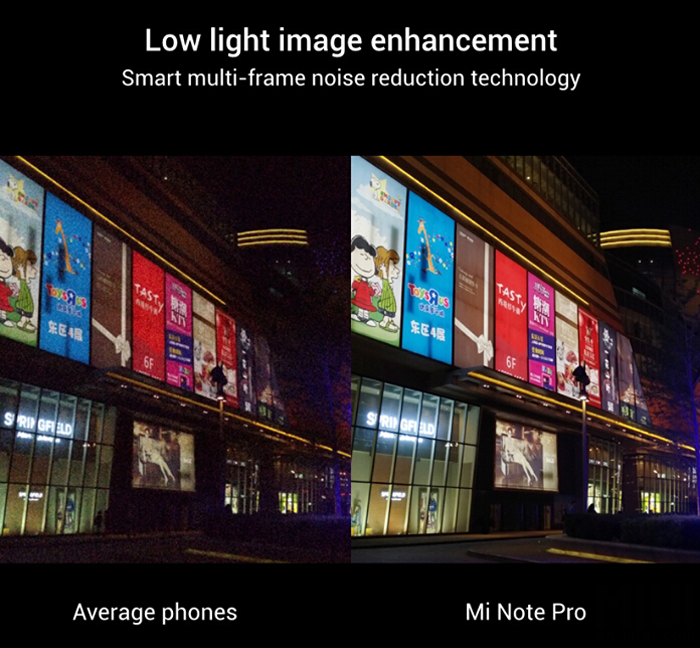 Xiaomi Mi Note Pro 2k display