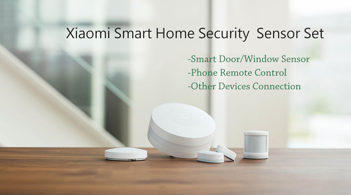 original xiaomi smart home security wireless sensor set. Black Bedroom Furniture Sets. Home Design Ideas
