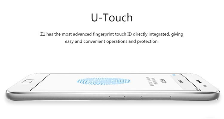 ZUK Z1 3GB RAM 64GB ROM 5.5inch IPS Display Smartphone White