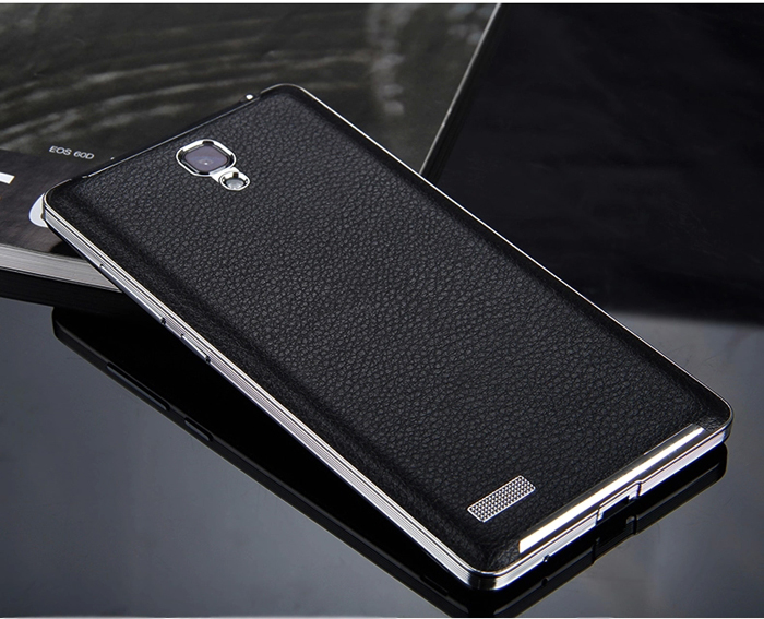 Luxury Pu Leather Back Cover Case For Xiaomi Redmi Note