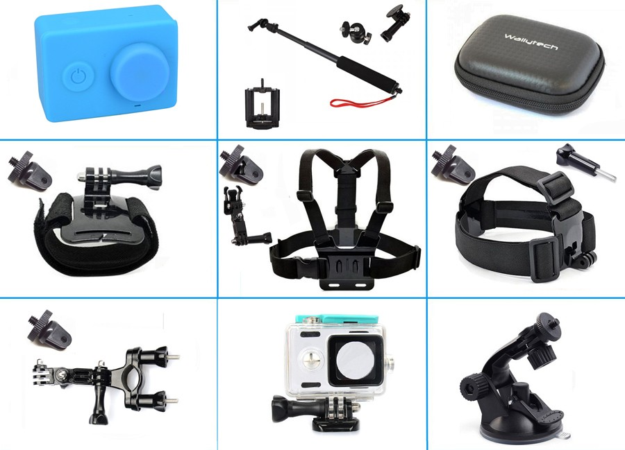 9-in-1 Basic Common Outdoor Sports Kit for Xiaomi Yi Sport ...