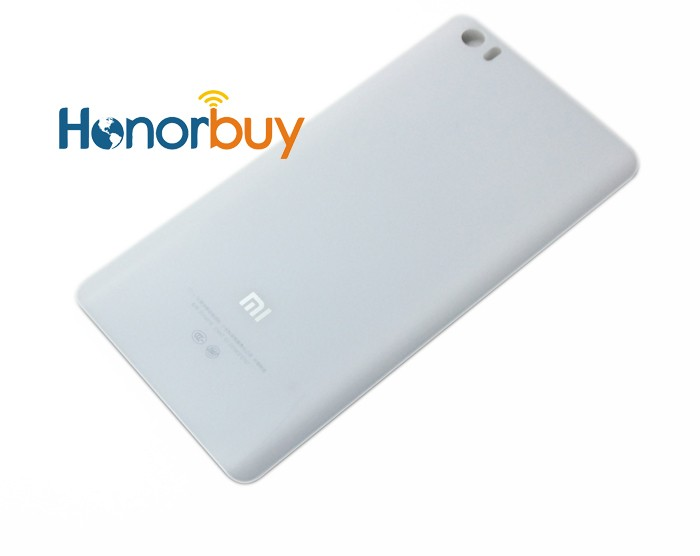 Replacement Glass Back Battery Cover For Xiaomi Mi Note