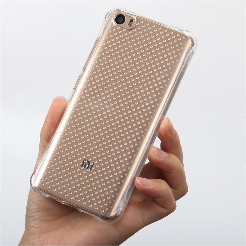 Ultra Thin Tpu Gel Rubber Soft Skin Case Cover For Xiaomi Mi 5