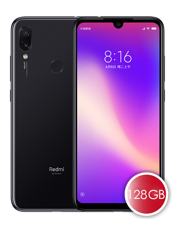 Redmi Note 7 Pro 6GB RAM 128GB ROM Smartphone English and