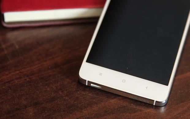 Xiaomi Mi4 buttons